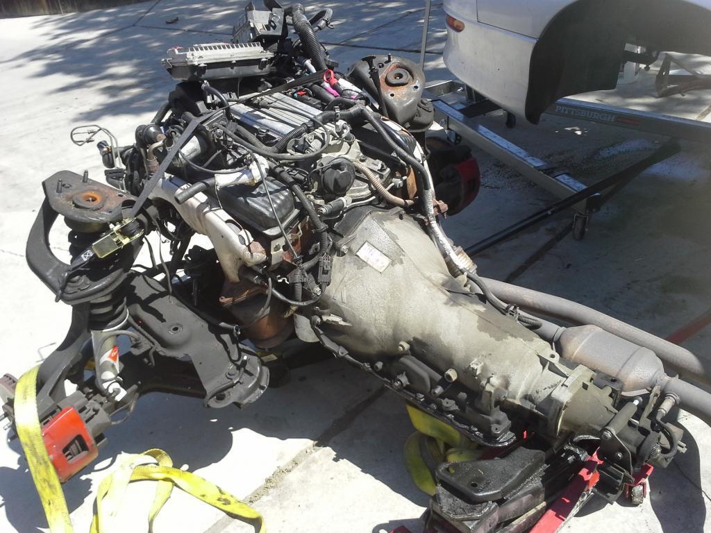 1997 Chevrolet Camaro Z28 Engine