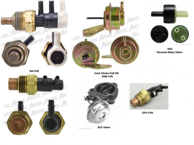 chevy distributor vacuum delay valve