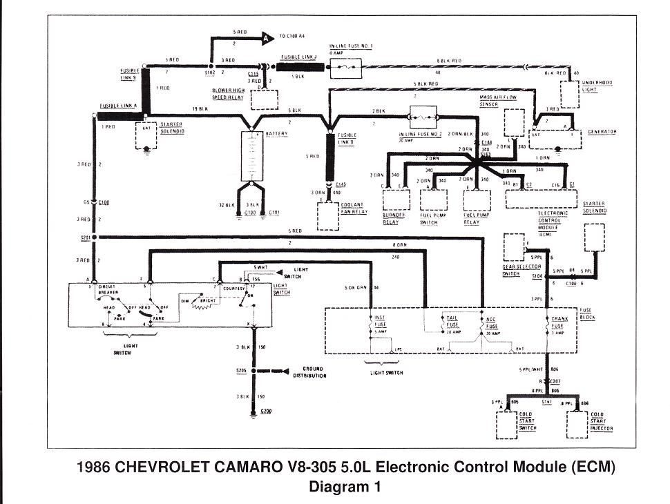 l98 engine wiring diagram Tune Port Injection Wiring Harness 350 TPI Injection Wiring Harness