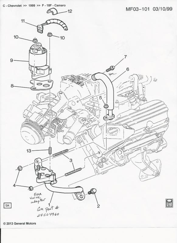 Pontiac Grand Prix V6 3800 Engine Diagram Auto
