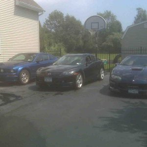 mine and my brothers cars