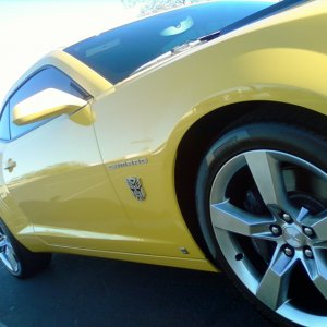 GTM's 2010 2SS/RS Rally Yellow Camaro (After)